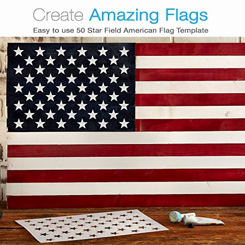 Flag Star Stencil New U Create American Flag 50 Star Stencil for Painting On