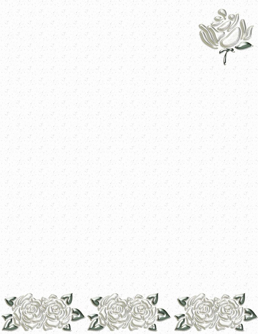Floral Stationery Template Free Beautiful 1000 Images About Papier Listowy On Pinterest