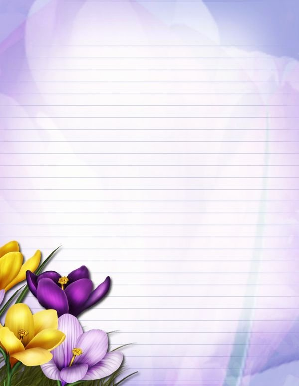 Floral Stationery Template Free Fresh Floral Stationary by Junkbyjen by Junkbyjen On Deviantart