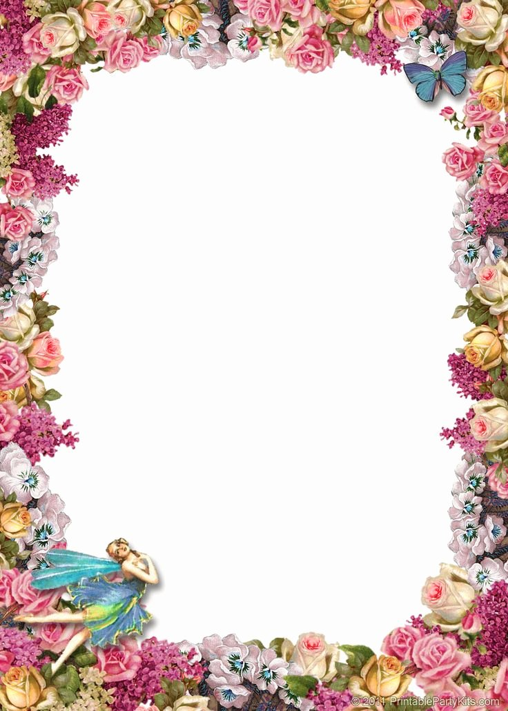 Floral Stationery Template Free Lovely Free Printable Backgrounds Stationery
