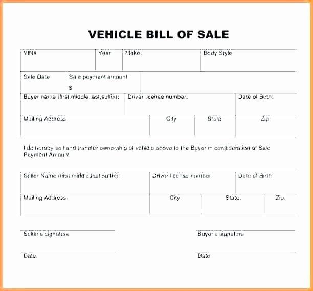 Florida Firearm Bill Of Sale Beautiful 12 Gun Bill Of Sale Florida