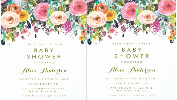 Flower Invitation Template Lovely 5 Floral Invitation Banners Psd