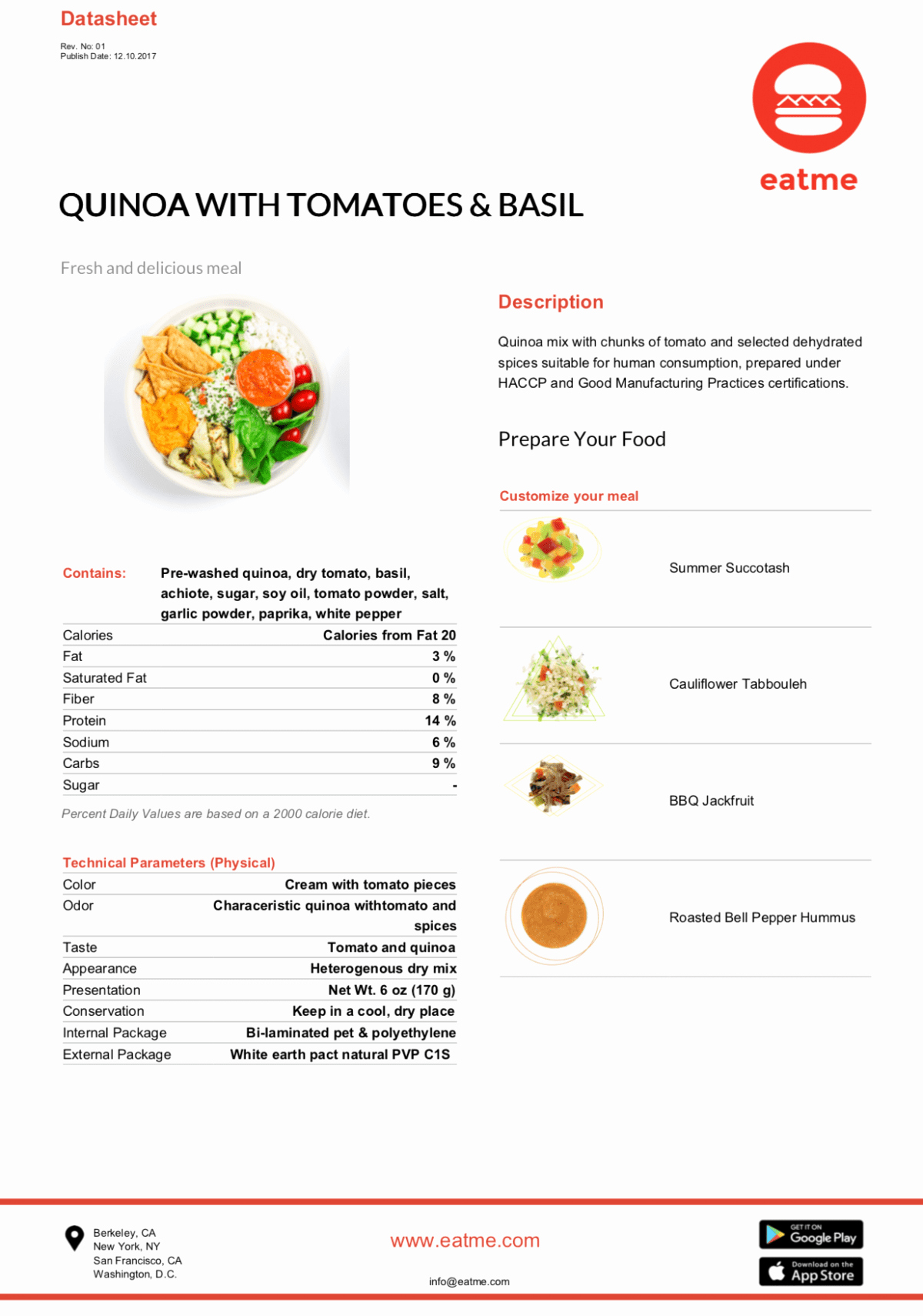 Food Product Spec Sheet Template Luxury Free Templates Data Sheet Spec Sheet and More