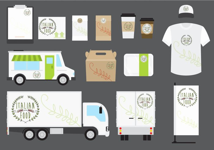 Food Truck Layout Template Awesome Italian Food Business Template Welovesolo