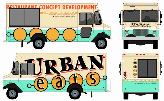 Food Truck Layout Template Elegant Food Truck Trucks and Templates On Pinterest