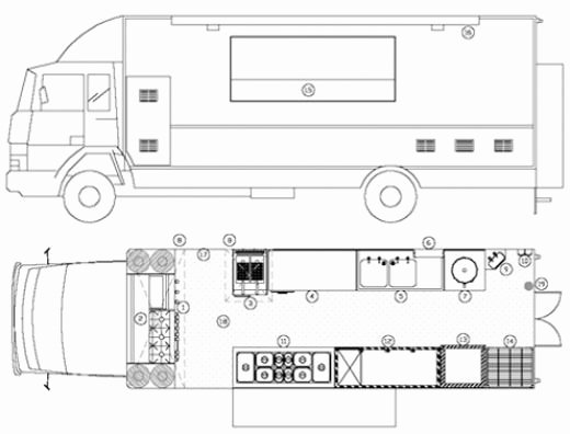 Food Truck Layout Template New Food Truck Layout Template