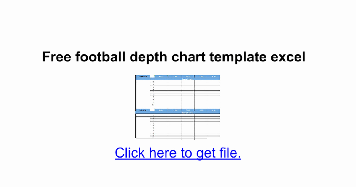 Football Depth Chart Template Excel format Beautiful Baseball Depth Chart Template – Invigo