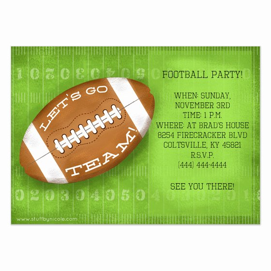 Football Party Invitation Template Luxury Football Invitation Template Invitation Template