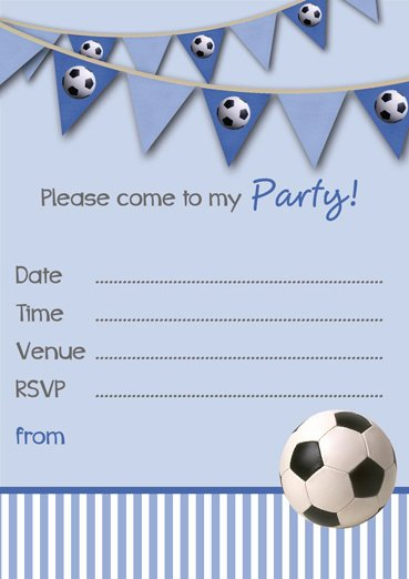 Football Party Invitation Template New Free Printable Football Party Invitation Templates
