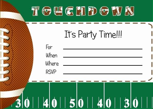 Football Party Invitation Template Unique 25 Best Ideas About Football Party Invitations On