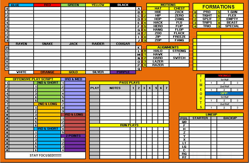 Football Play Call Sheet Template Best Of Index Of Cdn 3 2005 813