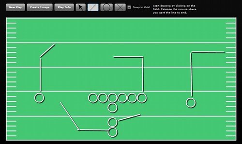 Football Play Template Inspirational Football Playbook Line
