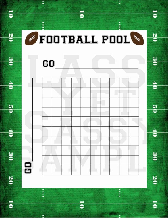 Football Pool Sheets Excel Awesome 19 Football Pool Templates Word Excel Pdf