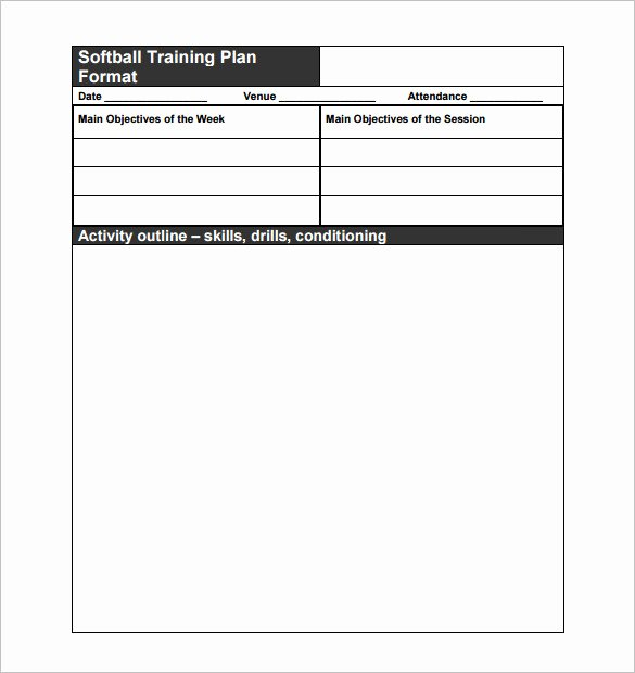 Football Practice Plan Template Excel Inspirational 11 Practice Schedule Templates Doc Pdf