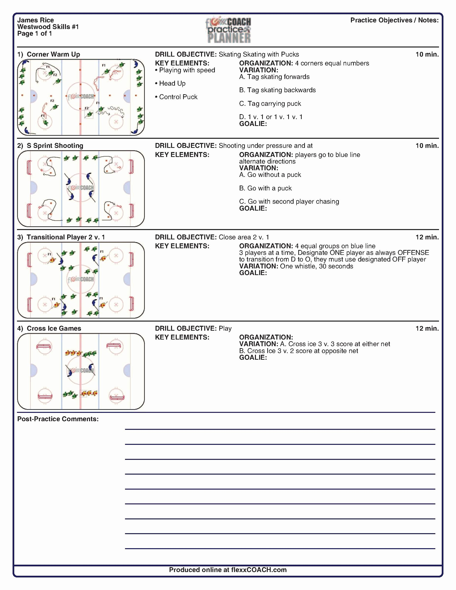 Football Practice Schedule Template Beautiful 29 Of Football Practice Plan Template