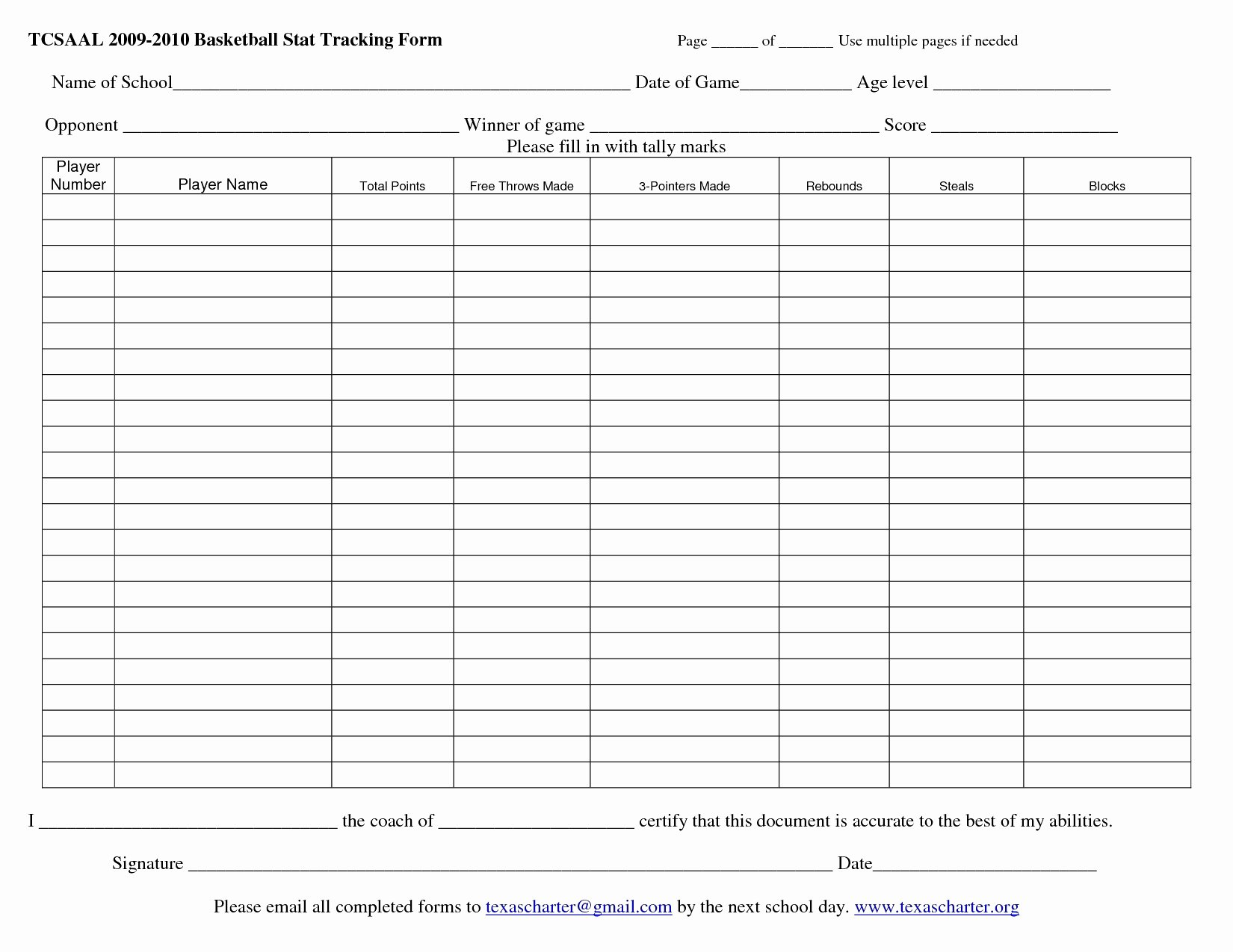 Football Stat Sheet Template Excel Luxury Basketball Stats Spreadsheet Google Spreadshee Basketball