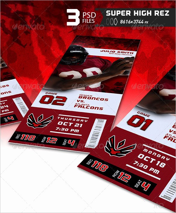 Football Ticket Template Elegant 115 Ticket Templates Word Excel Pdf Psd Eps
