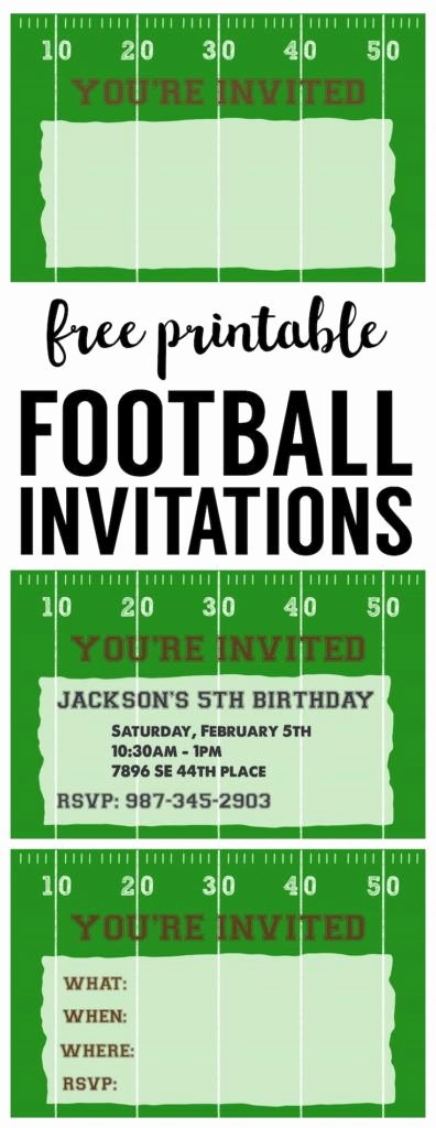 Football Ticket Template Unique 25 Best Ideas About Football Invitations On Pinterest