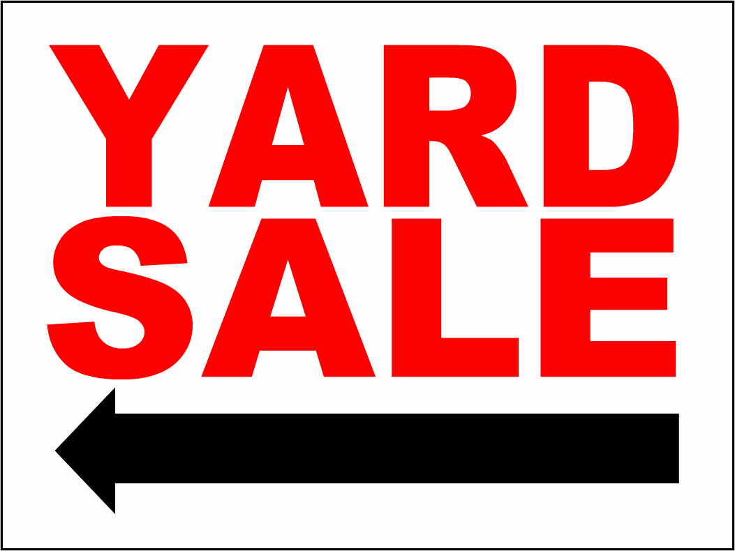 For Sale Sign Template Microsoft Word New Yard Sale Sign