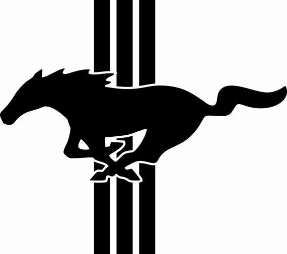 Ford Mustang Logo Vector Elegant ford Mustang Logo Emblem Vinyl by Freshcutcustomvinyl On