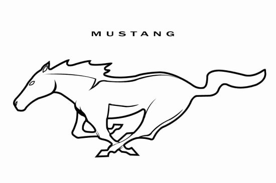 Ford Mustang Logo Vector Lovely ford Mustang Logo Clipart Clipart Suggest