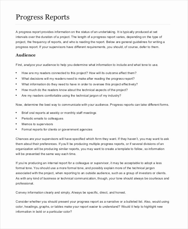 Formal Business Report Example Best Of 13 formal Report Examples Word Pdf