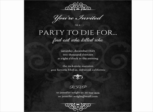 Formal Dinner Invitation Template Elegant 34 Sample Invitation Templates Psd Ai