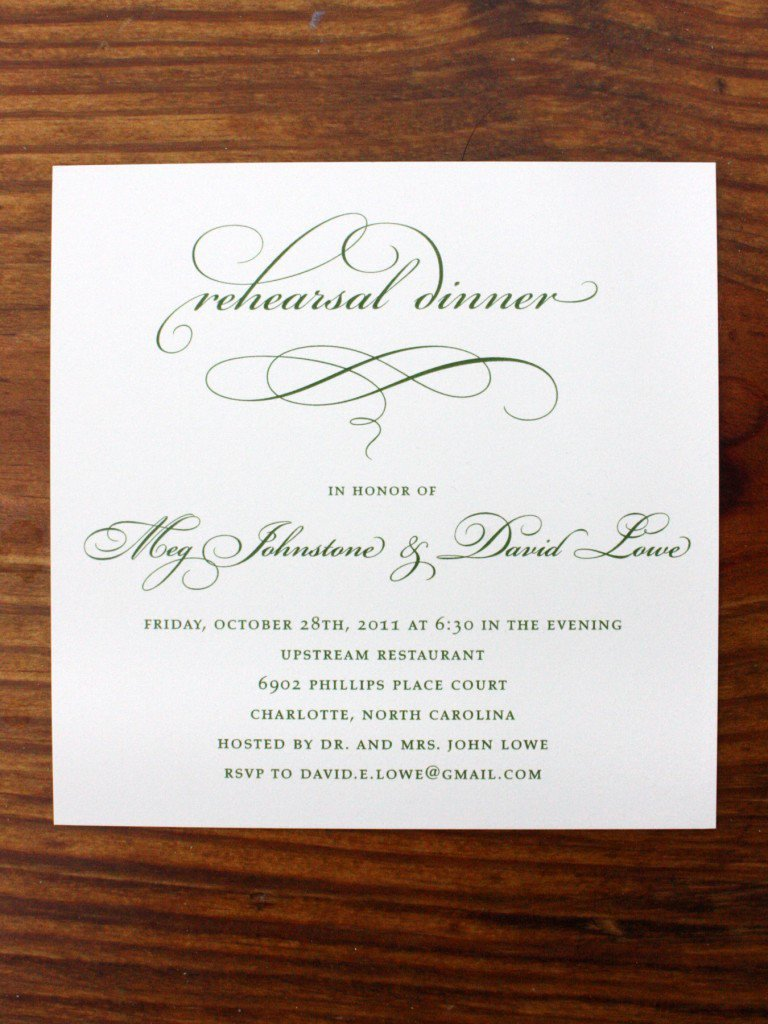 Formal Dinner Invitation Template Luxury formal Dinner Invitation Sample