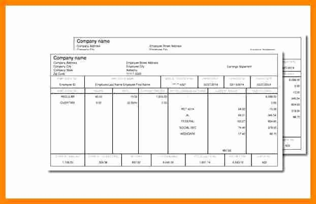 Free 1099 Pay Stub Template Beautiful 10 Pay Stub Template for 1099 Employee
