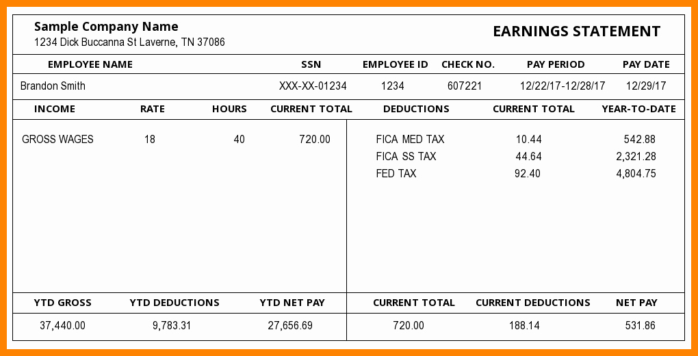 Free 1099 Pay Stub Template Beautiful 5 1099 Pay Stub Template