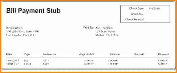 Free 1099 Pay Stub Template Best Of 10 Pay Stub Template for 1099 Employee