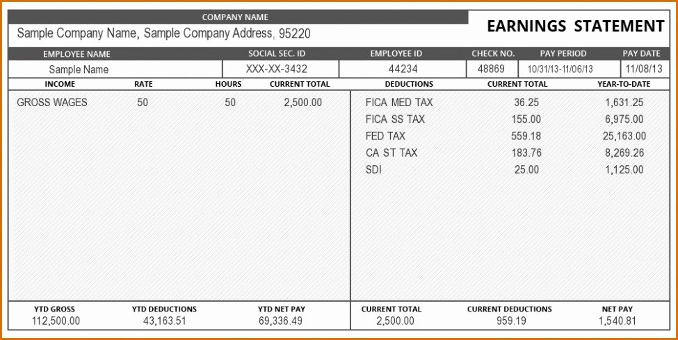 Free 1099 Pay Stub Template Best Of Paycheck Stub Creator Free