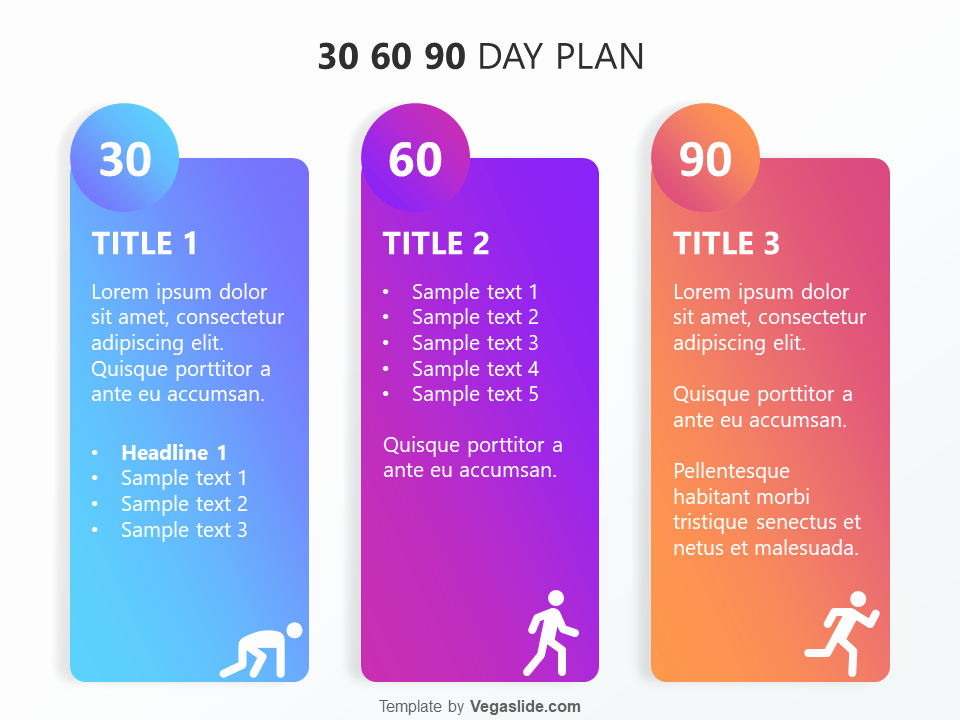 Free 30 60 90 Day Plan Template Word Awesome Refreshing 30 60 90 Day Plan Powerpoint Template Download