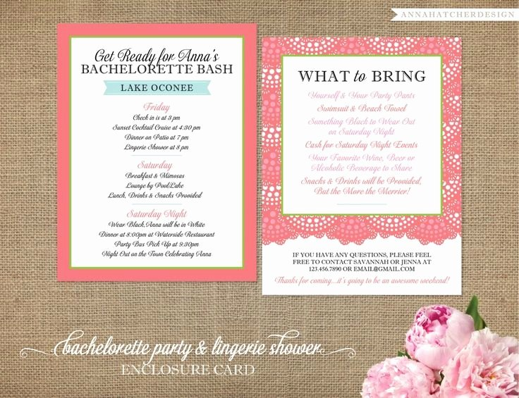 Free Bachelorette Itinerary Template Lovely Bachelorette Invitation Templates Printable Google