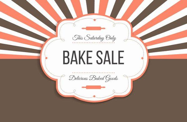 Free Bake Sale Template Awesome 14 Sample Bake Sale Flyer Templates Psd Ai Word
