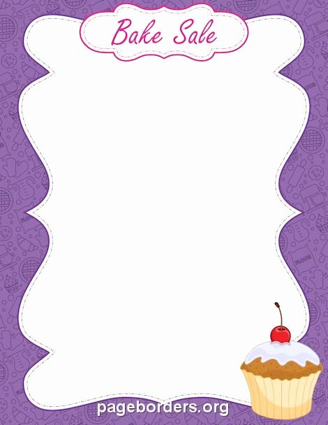 Free Bake Sale Template Elegant Pin by Erika Knuckles On so I Remember