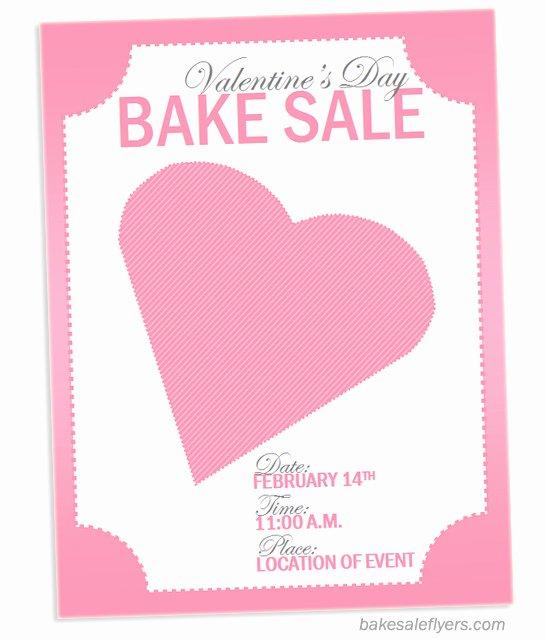 Free Bake Sale Template Fresh Bake Sale Flyers – Free Flyer Designs
