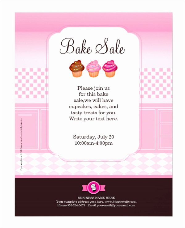 Free Bake Sale Template Luxury 23 Professional Flyer Templates Free Psd Eps Ai