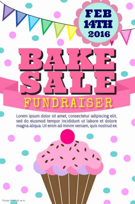 Free Bake Sale Template Luxury Bake Sale Template