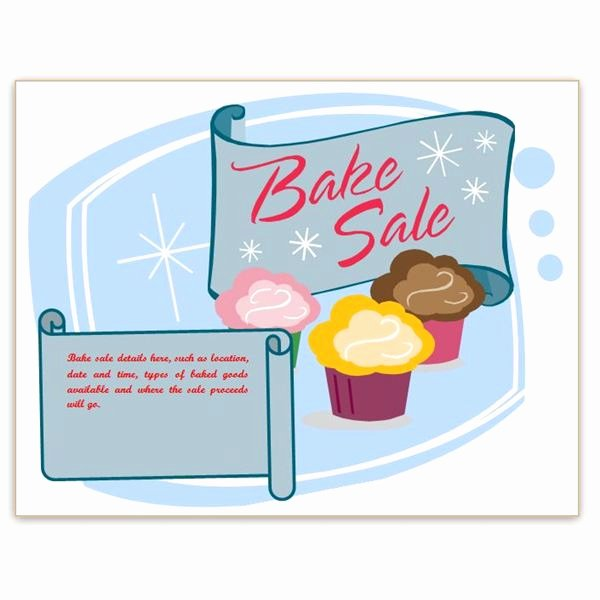 Free Bake Sale Template New Find Free Flyer Templates for Word 10 Excellent Options