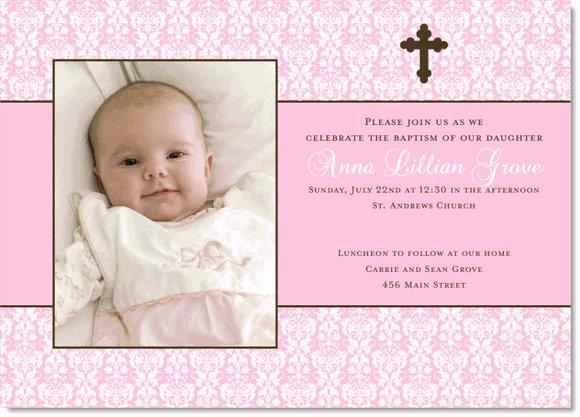 Free Baptism Invitation Templates Beautiful Baby Girl Baptism Invitation Free Templates