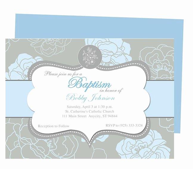 Free Baptism Invitation Templates Inspirational Chantily Baby Baptism Invitation Templates Printable Diy