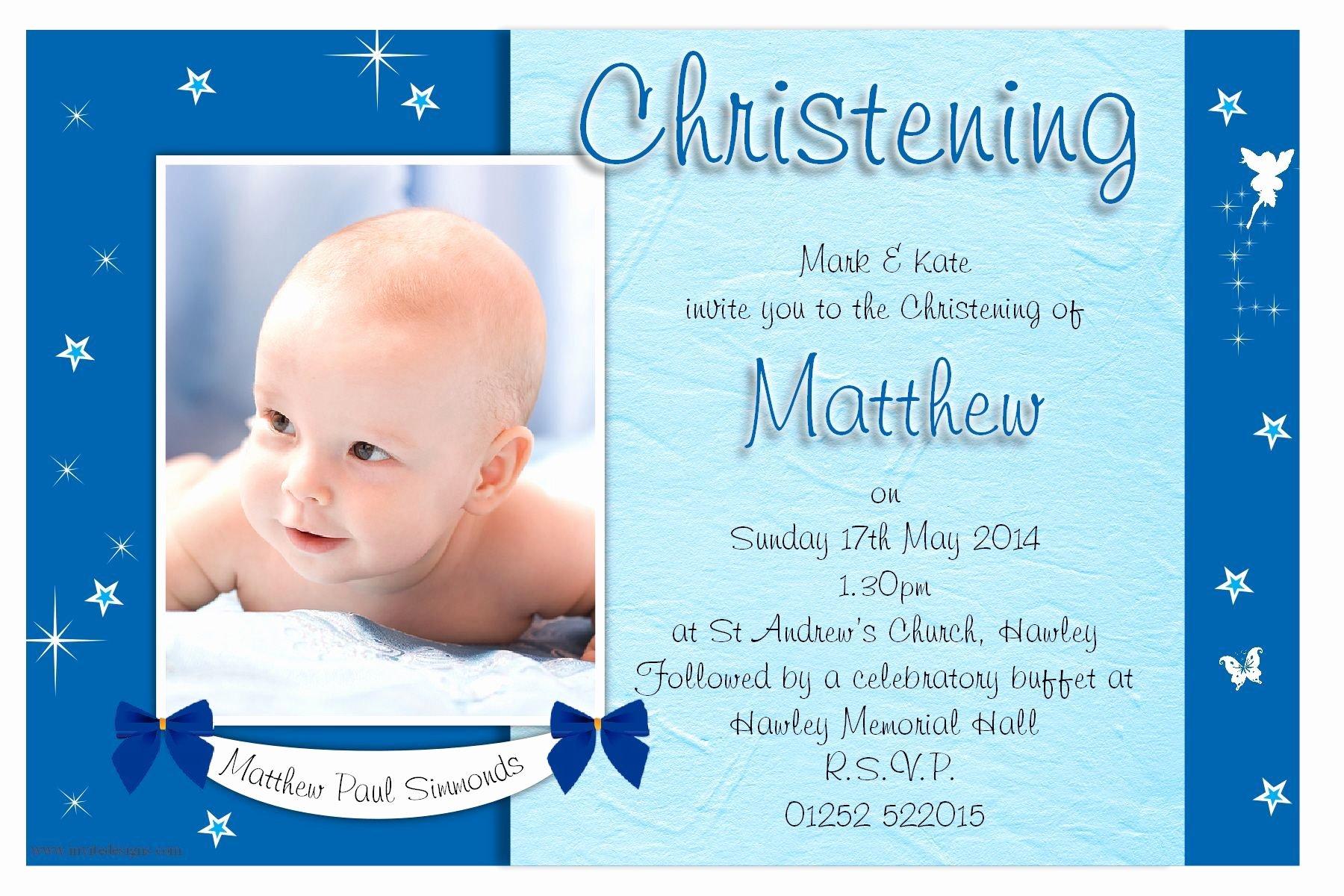 Free Baptism Invitation Templates Lovely Free Christening Invitation Template Printable