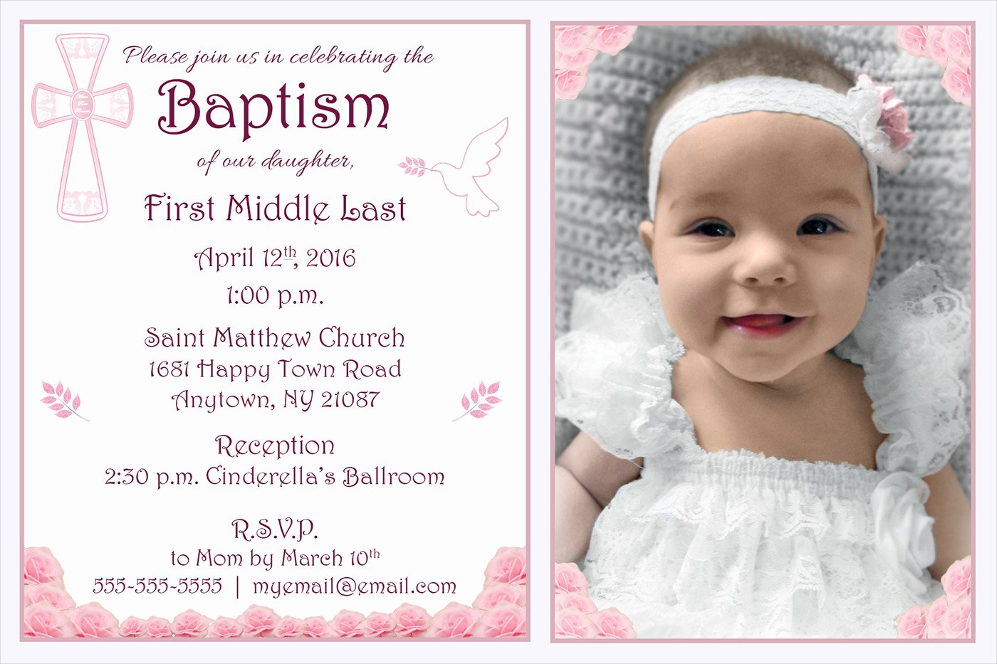 Free Baptism Invitation Templates New 10 Baptism Invitation Templates