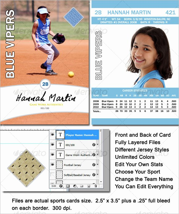 Free Baseball Card Template Download Best Of 16 Baseball Card Templates Psd Ai Eps