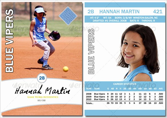 Free Baseball Card Template Download Best Of Baseball Card Template – 9 Free Printable Word Pdf Psd