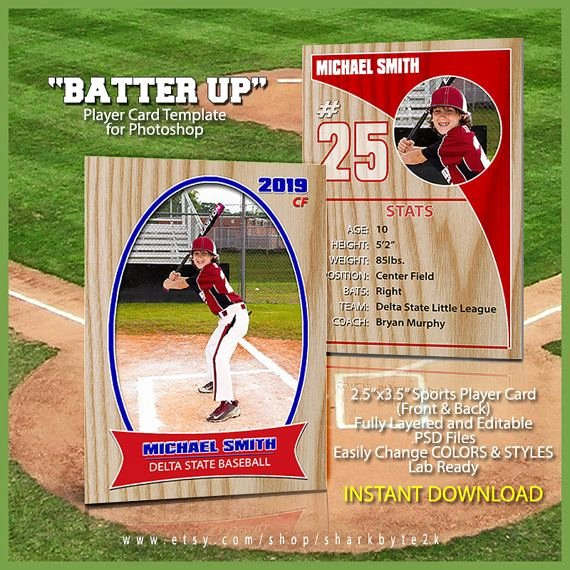 Free Baseball Card Template Download Elegant 17 Best Images About Baseball Card Templates On Pinterest