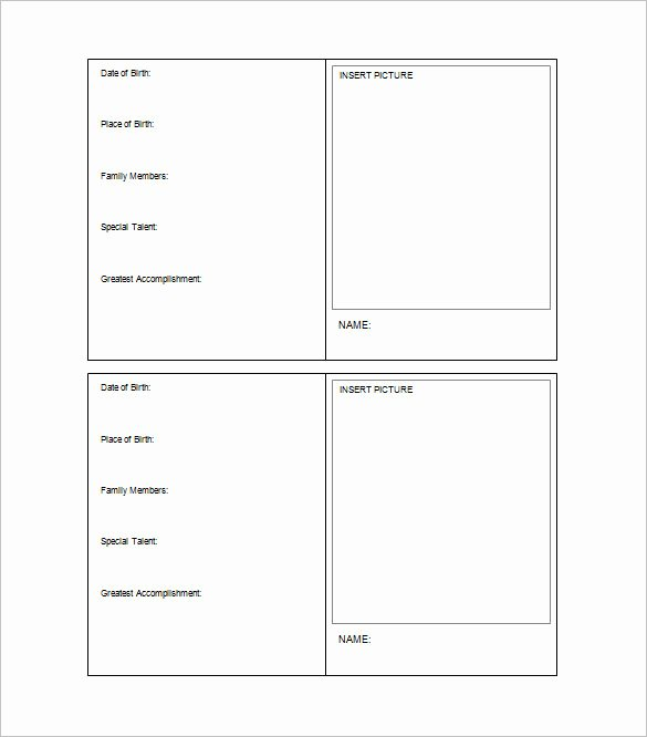 Free Baseball Card Template Download Lovely Baseball Card Template Word – Free Download