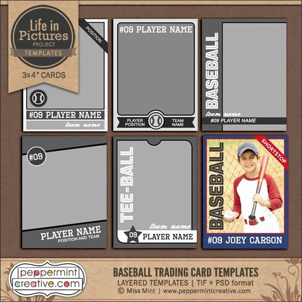 Free Baseball Card Template Download Lovely Best 25 Trading Card Template Ideas On Pinterest