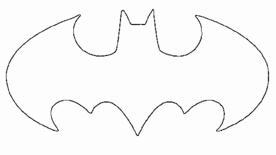 Free Batman Pumpkin Stencil Awesome New Batman Symbol Stencil Clipart Best